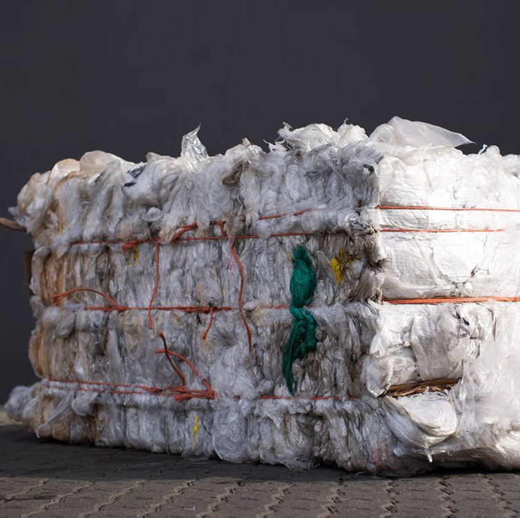 Pallet wrap/Stretch wrap is a product manufactured from LLDPE film grade virgin material used for the wrapping of pallets. Recycling of pallet wrap.